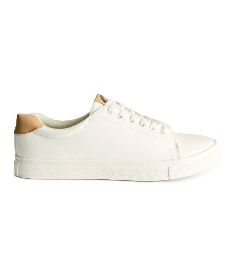 H&M Sneaker weiß