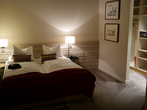 ein sehr gutes Bett, habe geschlafen wie ein Stein...